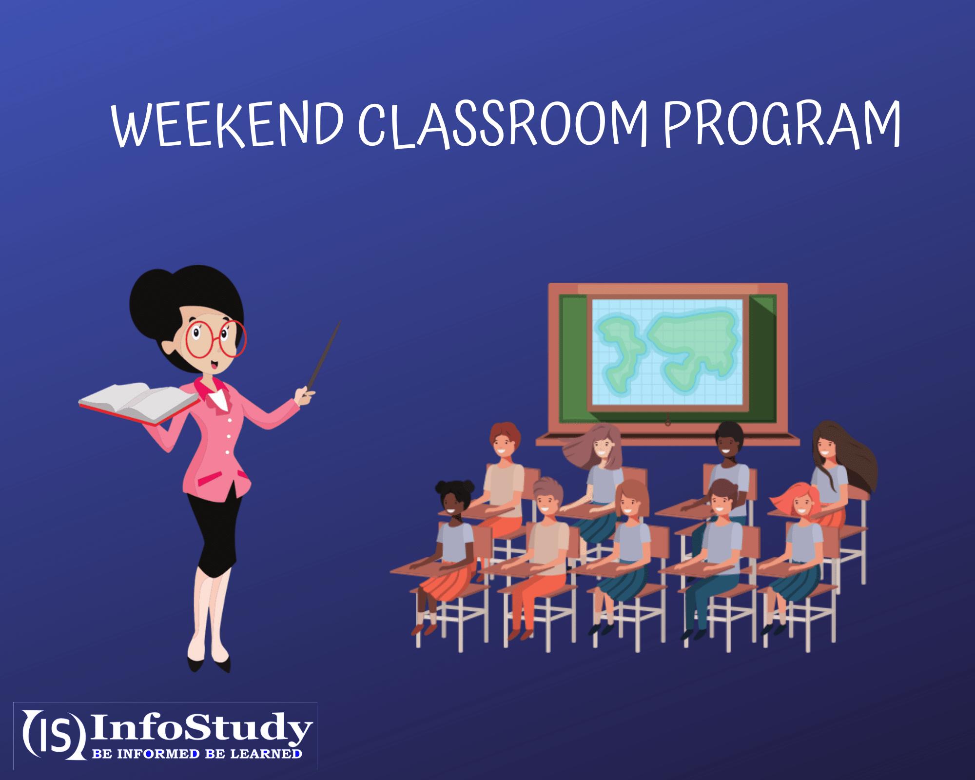 Weekend Classroom Program for csir ugc net