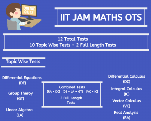 iit jam maths ots